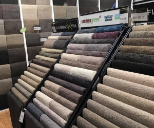 Flooring Xtra Carpet Culture Miranda NSW store carpet samples in store