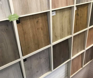 Flooring Xtra Carpet Culture Miranda NSW store hardwood flooring display
