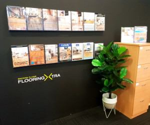 Browns Plains Flooring Xtra Queensland Store brochure wall