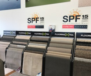 Browns Plains Flooring Xtra Queensland Store internal carpet flooring display