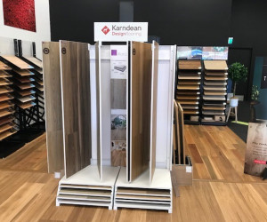 Flooring Xtra 3 room offer from $999 with included underlay Karndean Flooring Display