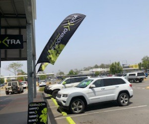 Browns Plains Flooring Xtra Queensland Store outside banners