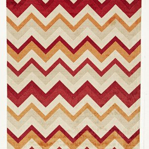 City Collection – Rust Chevron 559