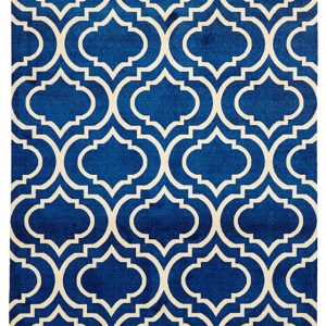 City Collection – Navy Geometric 561