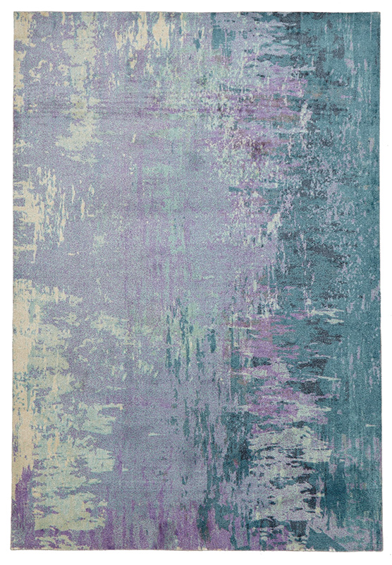 City Collection – Violet Abstract 562
