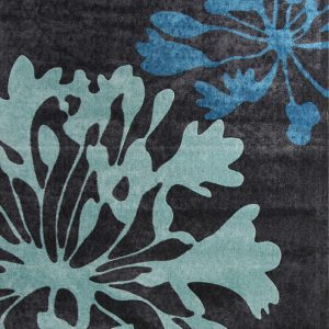 City Collection – Charcoal Floral 558