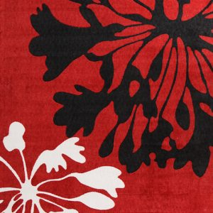 City Collection – Red Floral 558