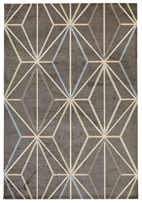 City Collection – Taupe Lines 573