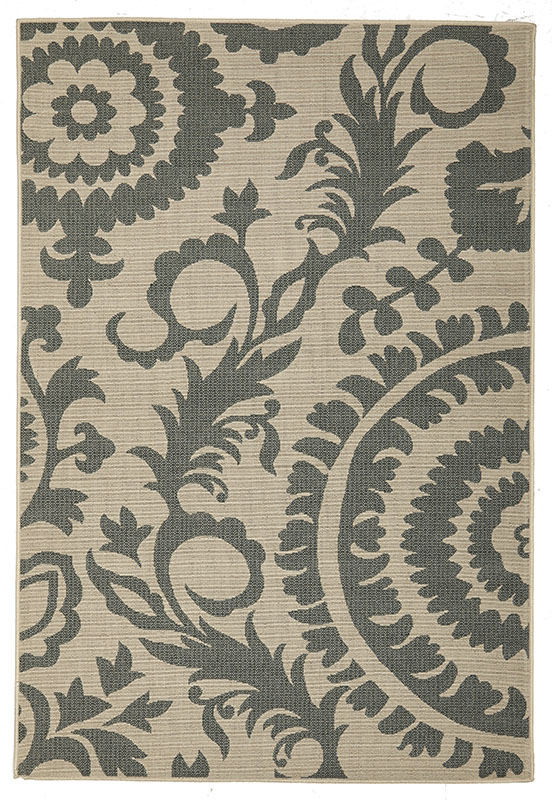 Alfresco Teal Patterned 6509