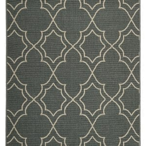 Alfresco - Teal Symmetric 6510