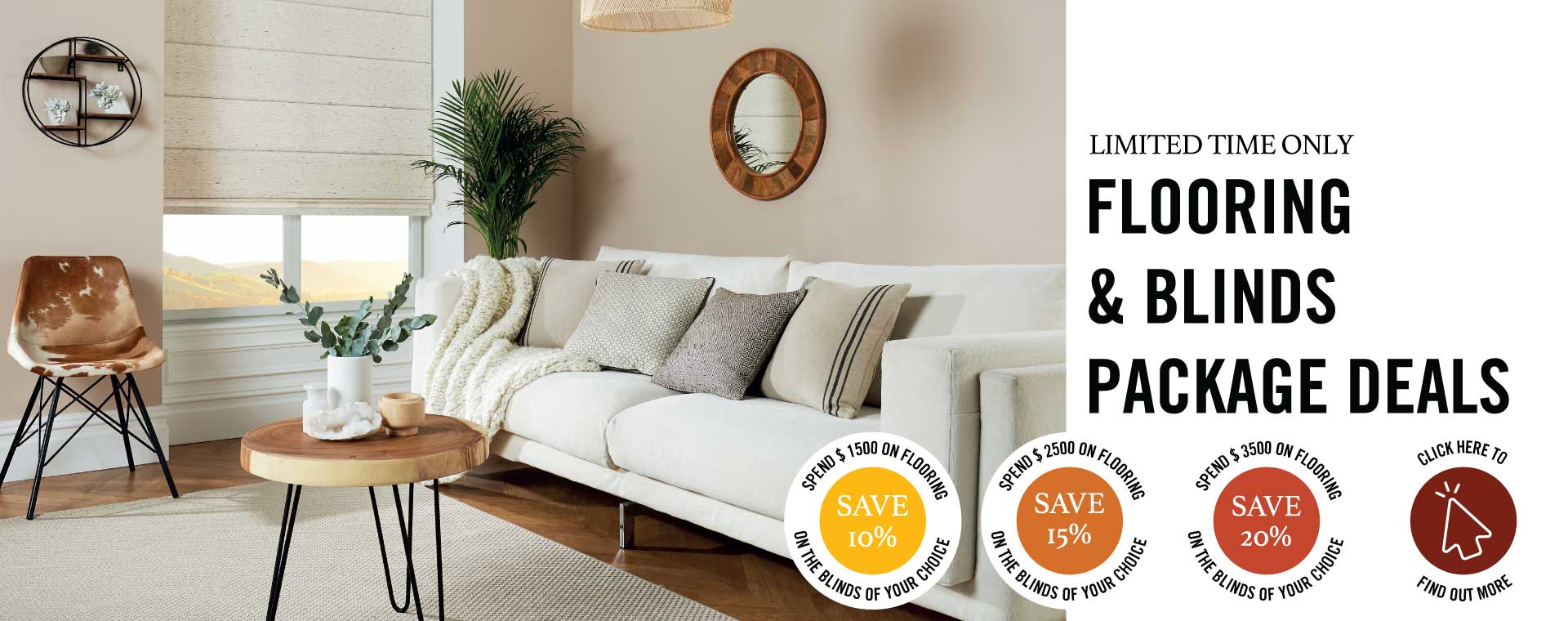 Flooring and Blinds Offer