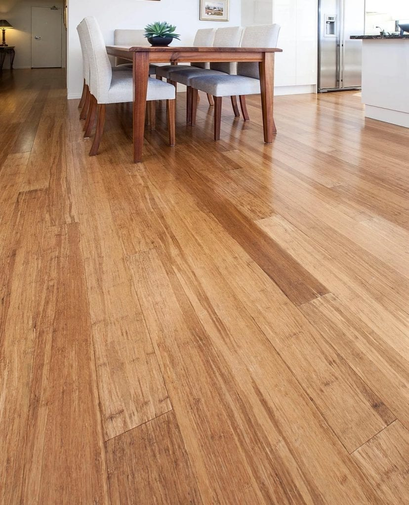Shambhala bamboo coffee flooring lifestyle