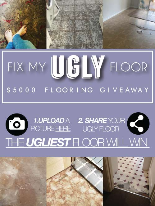 Fix My Ugly Floor Competition Flooring Xtra February Competition