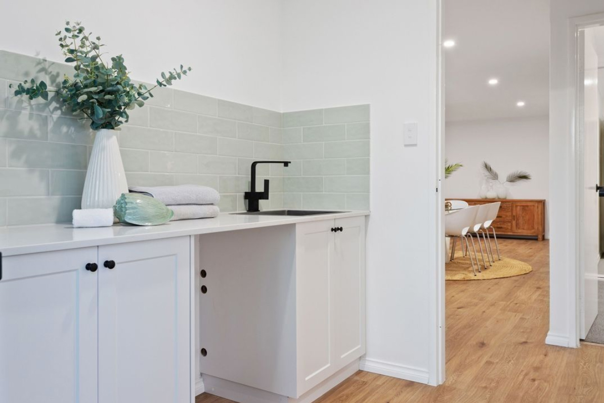 transforming your laundry and waterproof flooring