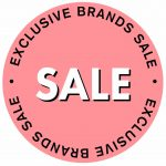 Exclusive brand sale product badge