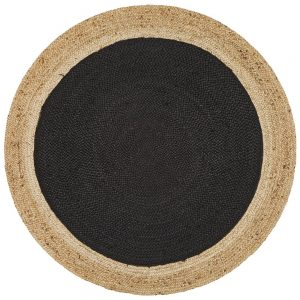 Atrium - Black Jute Polo