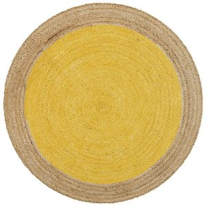 Atrium - Yellow Jute Polo