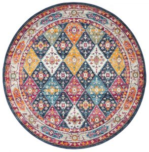 Round Shape of Rug Example